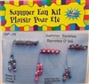Beaded Hair Barrettes Summer Fun Craft Kit