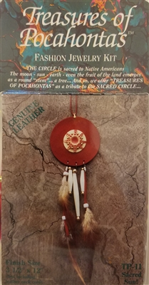 Treasures of Pocahontas Fashion Jewelry Kit Sacred Sun