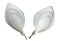 "Pair of 2-1/2"" Nylon Fairy Wings"