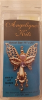 Angelique Kits Angel Beaded Jewelry Pin