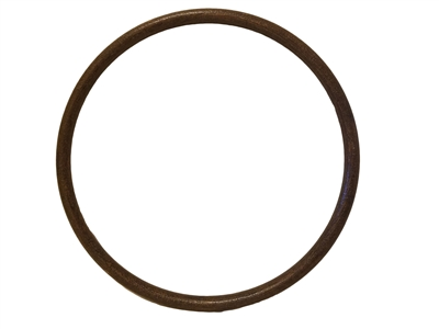 "11"" Wood Grain Plastic Ring"