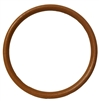 "6"" Unstained Plastic Wood Grain Ring"
