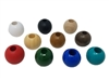 32MM Round Wood Beads 4 ct. Bag
