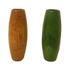 48X18MM Oval Oblong Wood Beads 4ct. Bag