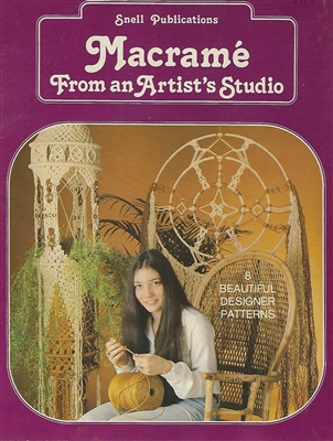 Macrame From An Artist's Studio