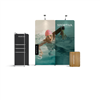 WaveLine_Media_Tension_Fabric_Display_10Ft_with_banner_stand