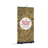 BrandStand 2 Rollup Retractable Banner Stand Black