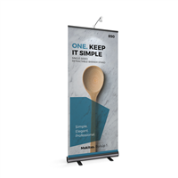 BrandStand1_ Rollup_33.5 _Single_Sided_Retractable_Banner_Stand