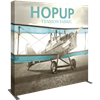 Hop Up 8Ft Straight Full Height Tension Fabric Display