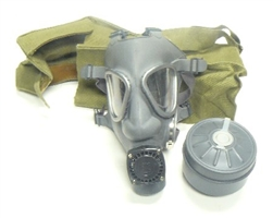 Finnish Gas Mask & Filter with Pack