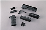 Hogue Overmolded Handguard Kit Black
