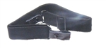 Black AK/SKS Sling with Leather Tabs - NEW