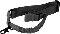 Black Single Point Bungee Sling