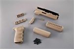 Hogue Overmolded Handguard Kit Desert Tan