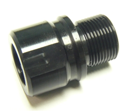 M13x1 RH to 1/2-28 RH Muzzle Thread Adapter
