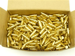 100 pc Brass Bullets 7.62x39 118g