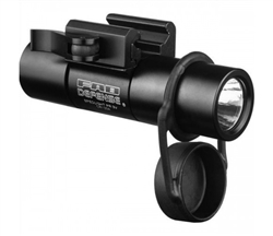 "378 Lumen LED 1"" diameter Flashlight + Picatinny mount - PR-3"