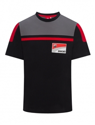 Ducati Corse t-shirt - black and gray