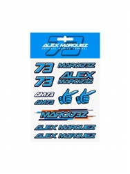 Alex Marquez Sticker Pack
