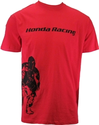 HONDA STAND UP AND RIDE TEE-RED