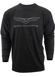 L/S GOLDWING TEE GRAPHITE