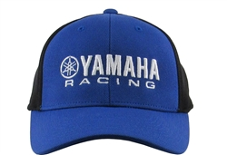 Yamaha Racing 3-D Embroidered Logo on The Front Center, M1 Embroidered Logo on the Side.