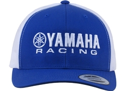 YAMAHA RACING TWO TONE TRUCKER FLAT BILL HAT