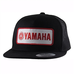 Retro Yamaha Embroidered Patch on The Front center.