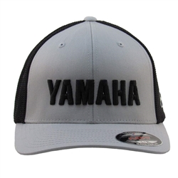 3-D Yamaha Lettering Embroidered Logo on The Front Center, Embroidered M1 Logo on the front Left Side Panel.