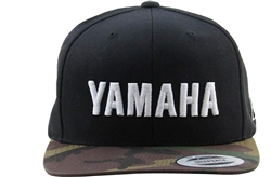 YAMAHA TWO TONE TRUCKER HAT - CAMO/BLK