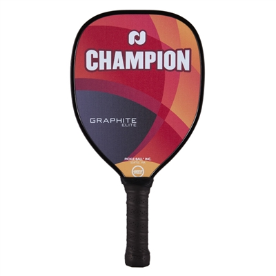 Champion Elite Pickleball Paddle featuring polypropylene core and powerful teardrop design