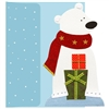 Polar Bear with Presents