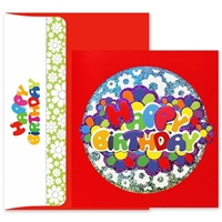 Birthday Bubble Letters