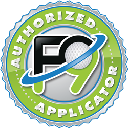 F9 Authorized Applicator Decal