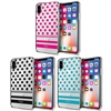 iLuv AIXDOT DotStyle Dual Protective Case for iPhone X
