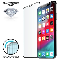 iLuv AIXLFCSTEMF Full Cover Tempered Glass for iPhone XR