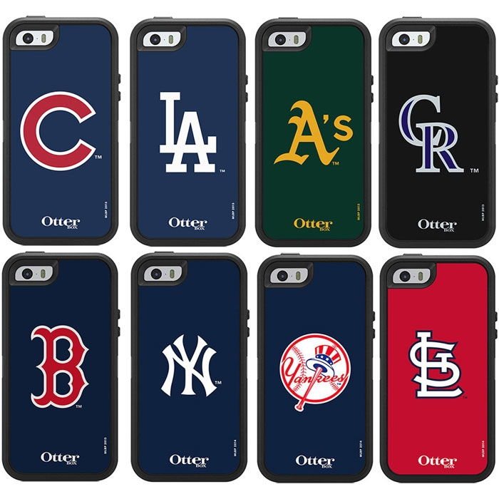 size 40 2954a 2d336 OtterBox MLB Edition Defender Series for Apple iPhone 5/5S/SE