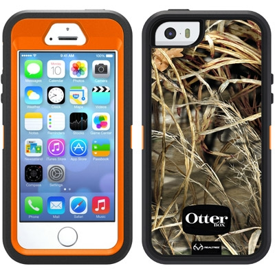 the latest 5fe88 dafd7 Otterbox Defender Series RealTree Camo Case for iPhone 5/5S/SE
