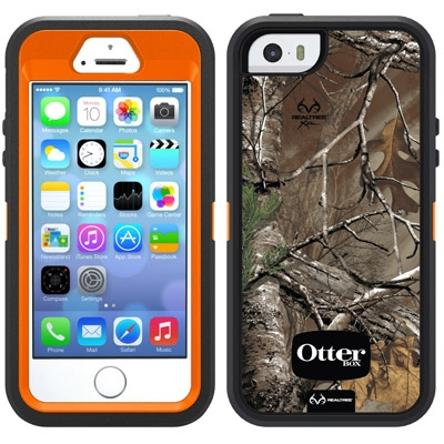 the latest 6a34b c219f Otterbox Defender Series RealTree Camo Case for iPhone 5/5S/SE