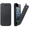 iLuv ICA7J332BLK Envelop Premium Synthetic Leather Flip Case for iPhone 5/5S/SE