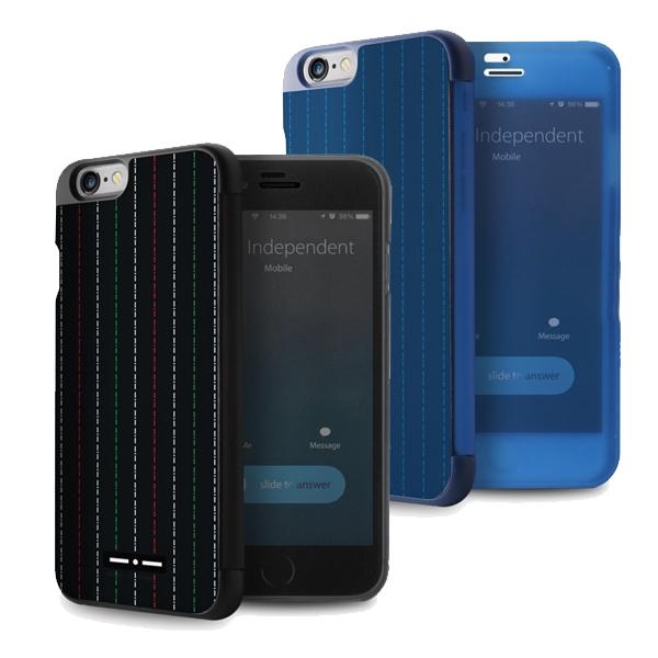 PURO Crystal Cover - iPhone 6 czarny