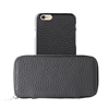 Puro Business Real Leather Case for iPhone 6  W/Magnetic Cover Grey