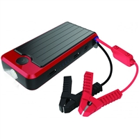 PowerAll Deluxe PBJS12000-RD Portable Power Bank/Jump Starter