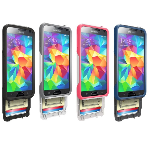 size 40 6dce4 5ff4a Otterbox Commuter Series Wallet Case for Samsung Galaxy S5