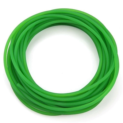 "12mm Round Urethane Drive BELT Top Width  1/2"" Thickness  "" Length 1 Foot industrial applications"