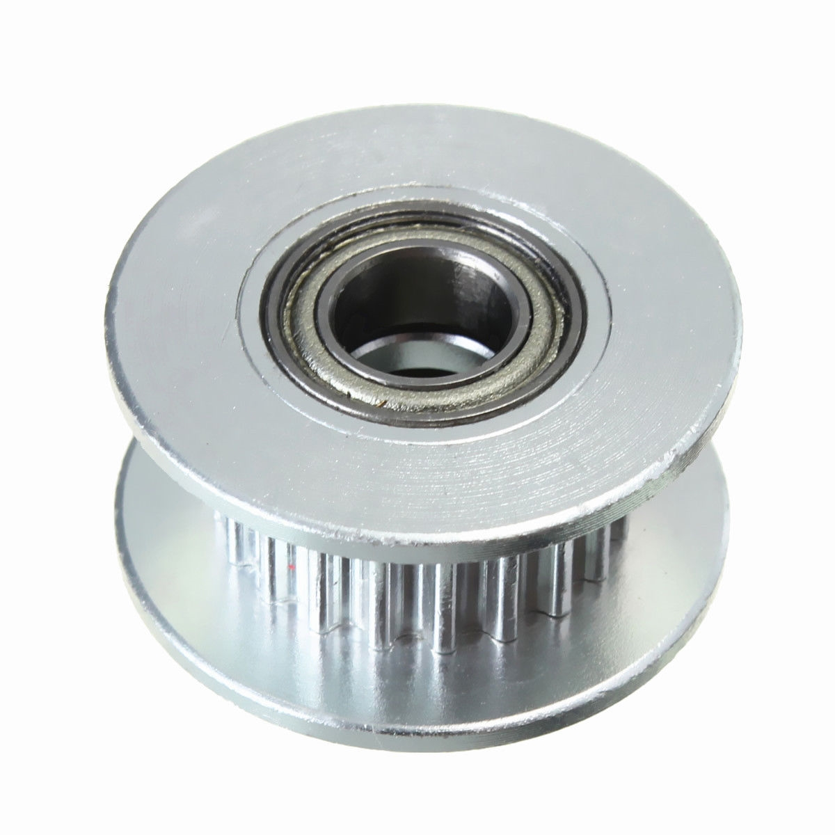 Aluminum GT2 20T 3*6mm Bore Timing Belt Idler Pulley With Bearing for 3D Printer