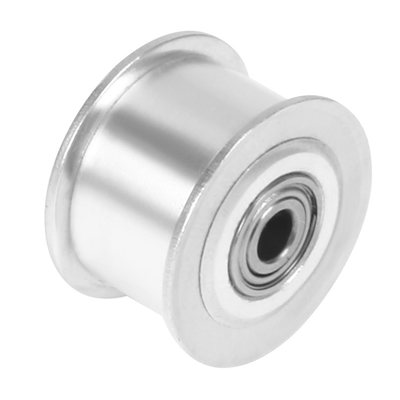 5mm Bore 6mm GT2 Belt Smooth Idler Pulley Aluminum W/Bearing for 3D Printer​