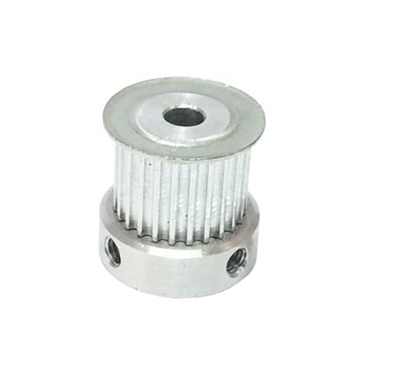 6.35mm Bore Aluminum Timing Pulley 3mm Pitch 15 Teeth 15mm Wide Belt Groove for 3D printer HTD3M