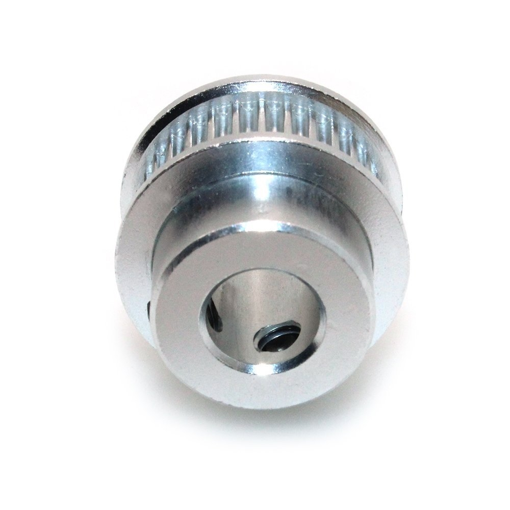 6.35mm Bore Aluminum Timing Pulley 2mm Pitch 20 Teeth 6mm Wide Belt Groove for 3