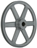 "AK124 3/4"" Bore  OD 12.25"", 1 Groove V-Belt Pulley Gear AK124-3/4"" Cast Iron for 3L . 4L A - V belt"
